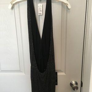 bebe Dresses - Bebe black beaded dress